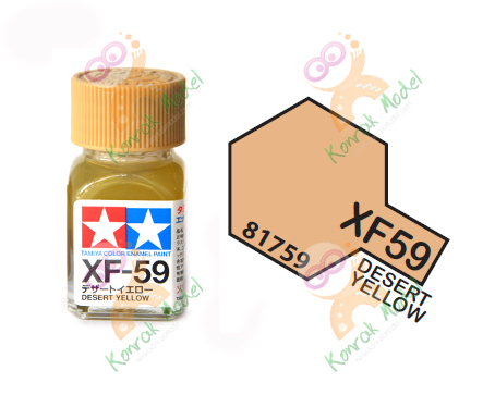 Enamel XF59 Desert Yellow 10ml