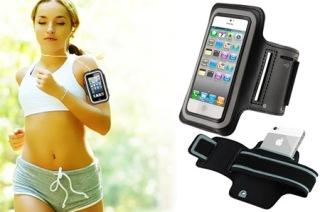 Armband สายรัดแขนออกกำลังกาย สำหรับiPhone4,4s,5,5s,6,6Plus