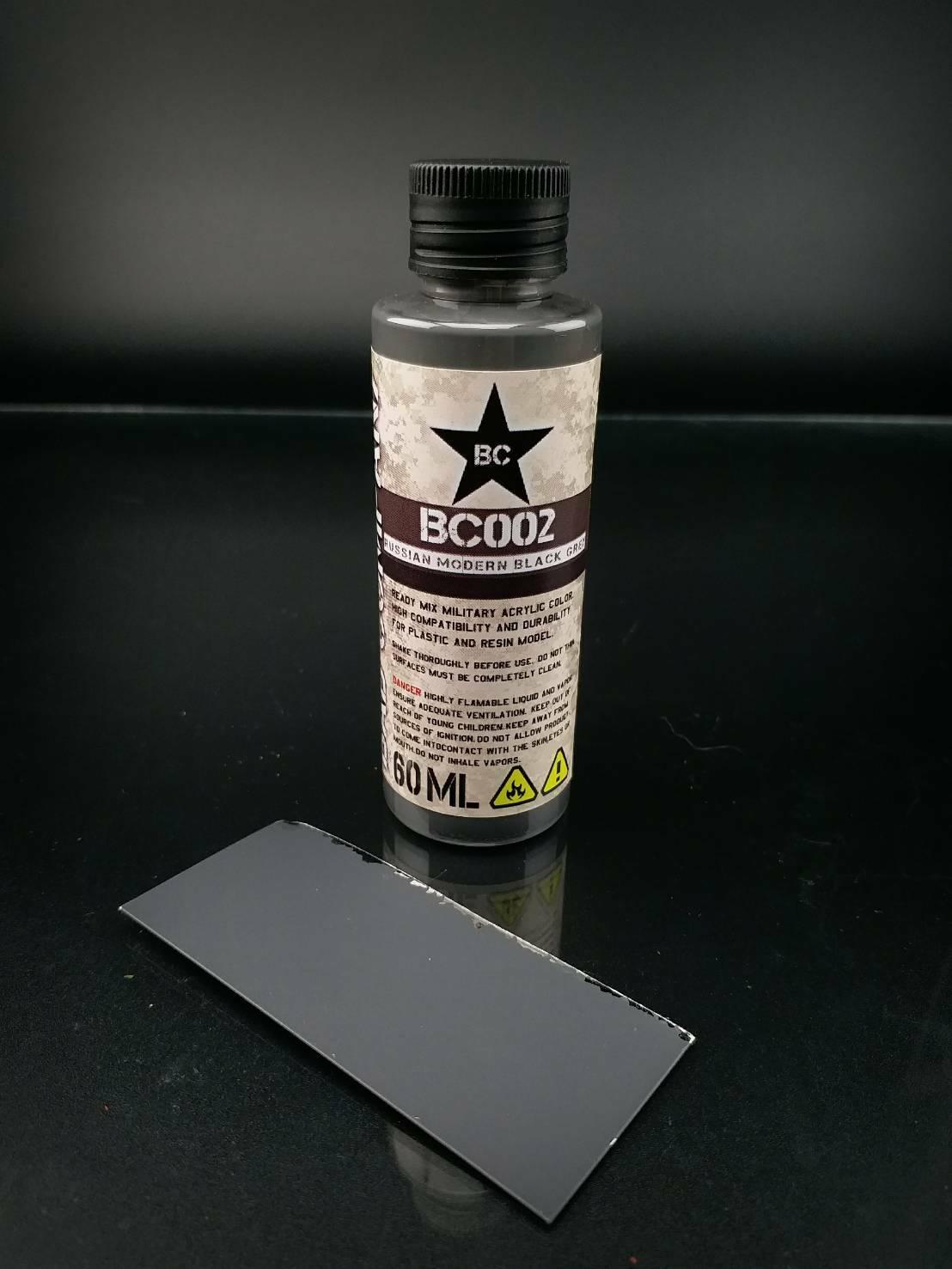 BC002 russian modern black grey 60ML