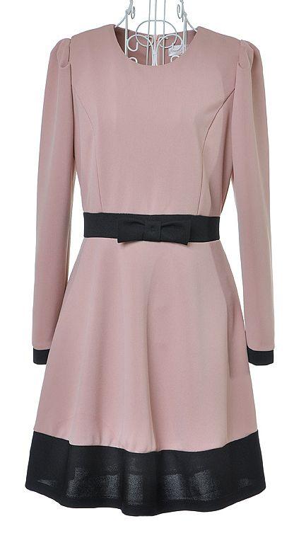ชุดเดรส Cotton Pink