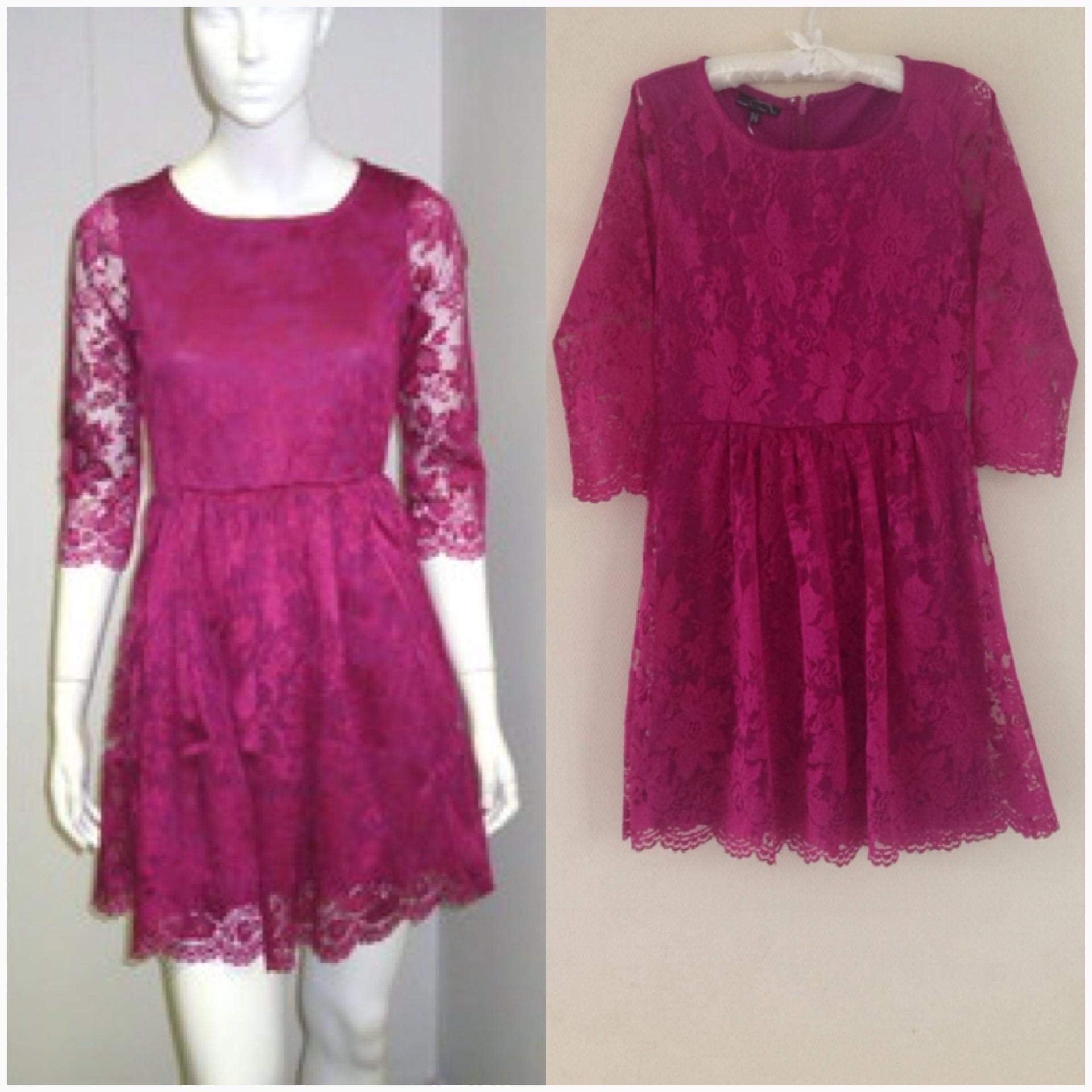Warehouse pink Dress uk12