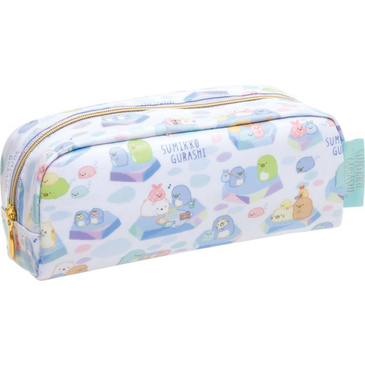 กระเป๋าดินสอ Sumikko Gurashi เพนกวินสีฟ้า