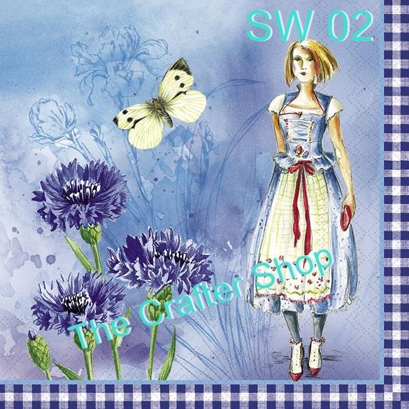 Napkin Sweet Pac (รหัสสินค้า SW-02)